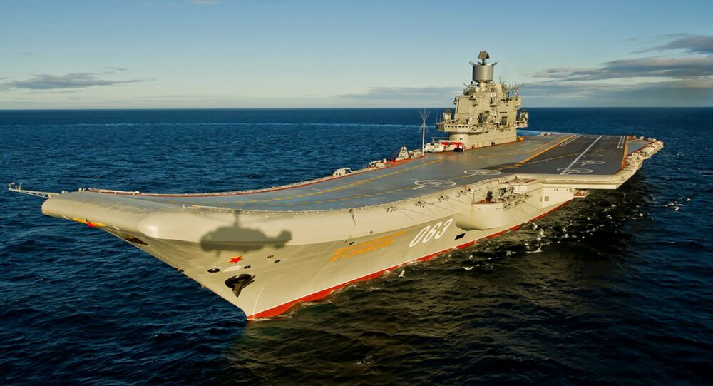 Tàu tuần dương sân bay hạng nặng Đô đốc Hải quân Liên xô Kuznetsov