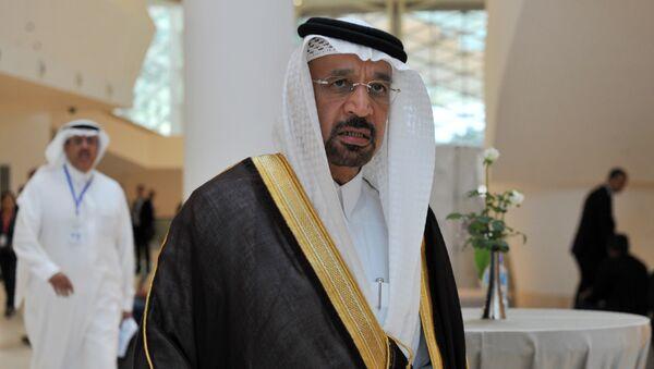 Bộ trưởng Bộ Năng lượng Saudi Arabia Khalid al-Falih - Sputnik Việt Nam