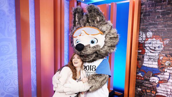 linh vật World Cup 2018 - sói Zabivaka - Sputnik Việt Nam