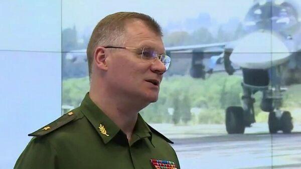 đại diện chính thức Bộ Quốc phòng Nga, Thiếu tướng Igor Konashenkov - Sputnik Việt Nam