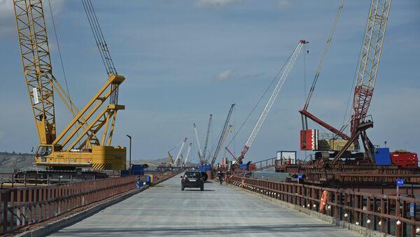 Cuộc xây dựng cầu Kerch - Sputnik Việt Nam