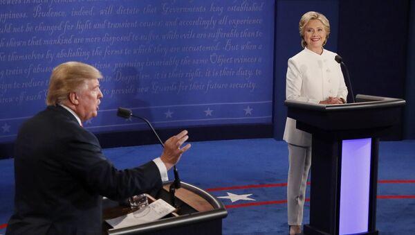Cuộc tranh luận thứ ba giữa Donald Trump và Hillary Clinton - Sputnik Việt Nam