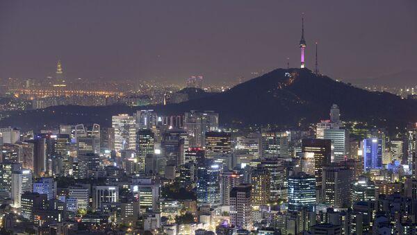 Cảnh nhìn vào thành phố Seoul Hàn Quốc - Sputnik Việt Nam