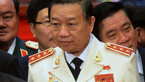 Bộ trưởng Bộ Công an Việt Nam Tô Lâm - Sputnik Việt Nam