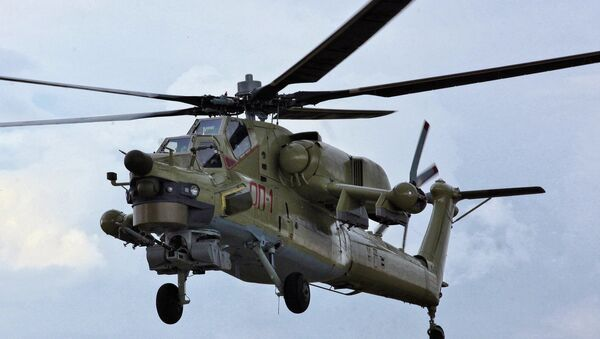 Mi-28UB - Sputnik Việt Nam