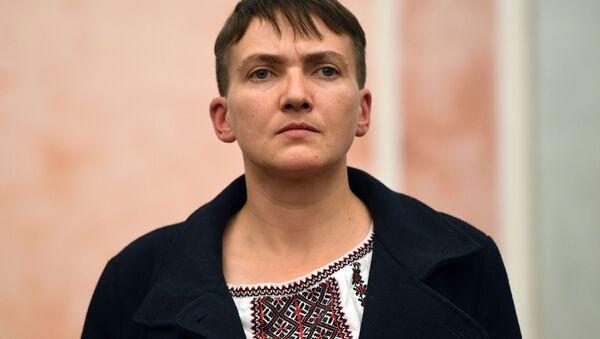 Nữ nghị sĩ Verkhovna Rada Nadezhda Savchenko - Sputnik Việt Nam