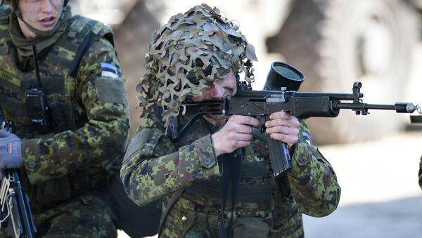 lực lượng NATO tại Estonia - Sputnik Việt Nam