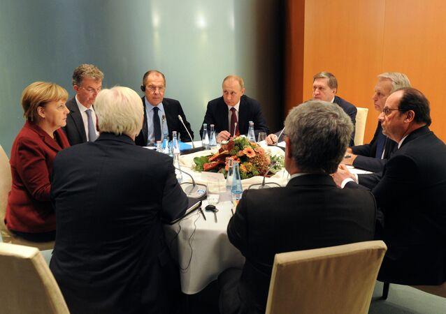 """Cuộc gặp của """"bộ tứ Normandy"""""""