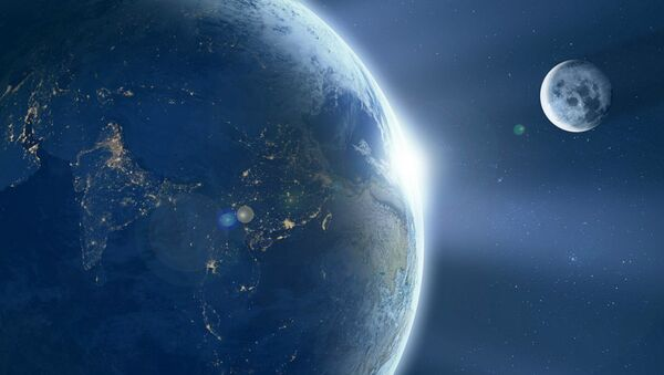 Trái đất, Mặt trăng - Sputnik Việt Nam