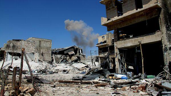 Разрушенные здания на юге Алеппо в Сирии - Sputnik Việt Nam