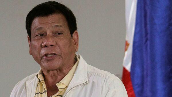 Президент Филиппин Родриго Дутерте - Sputnik Việt Nam