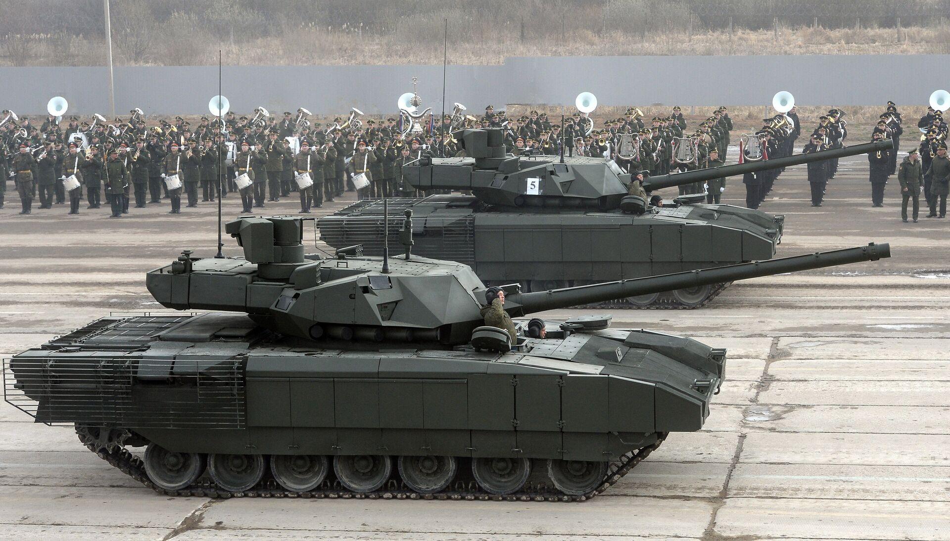 Mối đe dọa nghiêm trọng đối với NATO. Chuyên gia Mỹ so sánh xe tăng Armata và Abrams - Sputnik Việt Nam, 1920, 24.05.2021