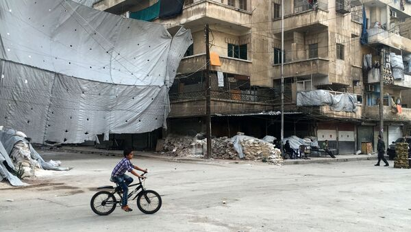 Hành lang đặc biệt ở Aleppo - Sputnik Việt Nam