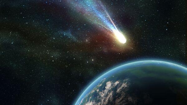 Thiên thạch va vào Trái Đất - Sputnik Việt Nam
