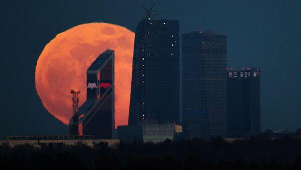 Siêu trăng ở Matxcơva - Sputnik Việt Nam