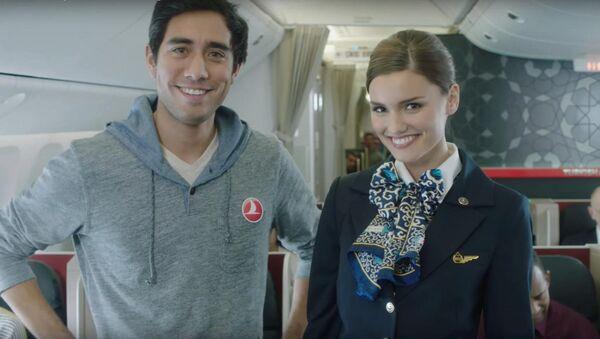 Video hướng dẫn của Turkish Airlines - Sputnik Việt Nam