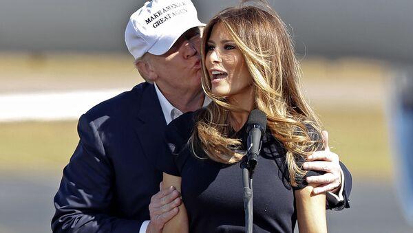 Tân đệ nhất phu nhân của Hoa Kỳ Melania Trump - Sputnik Việt Nam