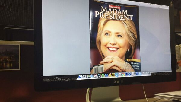 Tạp chí Newsweek gọi bà Clinton là Tổng thống Mỹ - Sputnik Việt Nam