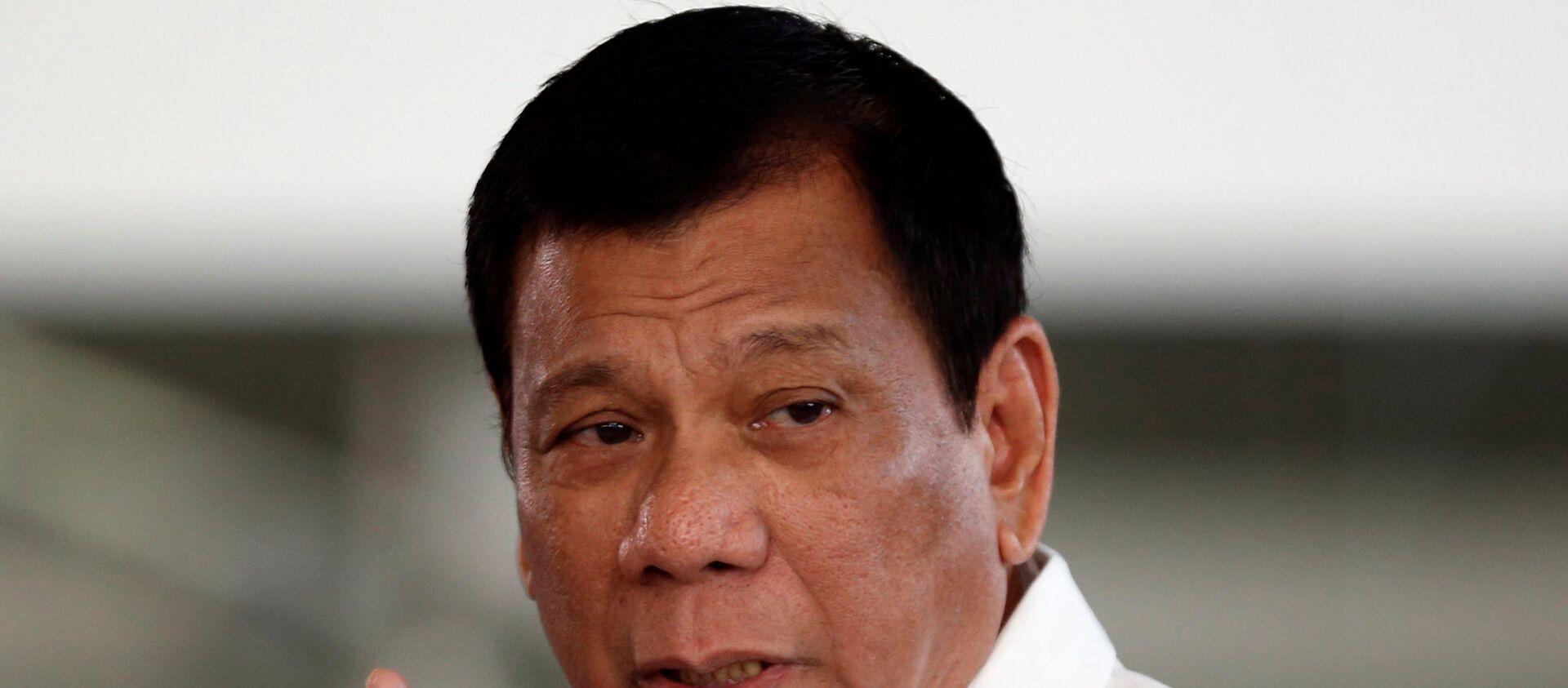 Rodrigo Duterte - Sputnik Việt Nam, 1920, 02.06.2021
