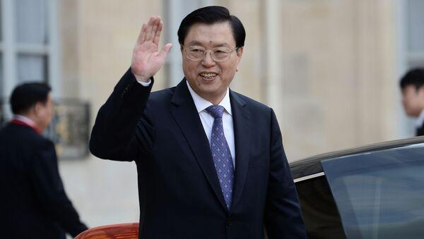 Chủ tịch Ban Thường vụ Quốc hội Trương Đức Giang - Sputnik Việt Nam
