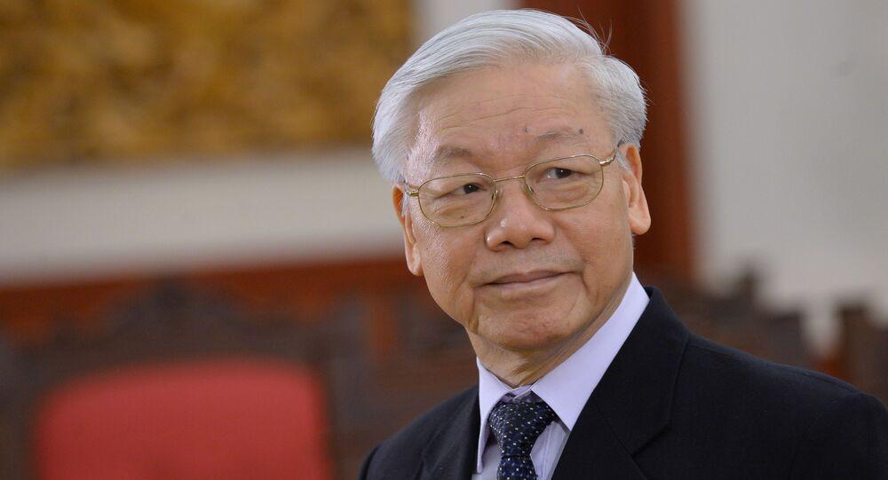 Tổng Bí thư ĐCS Việt Nam Nguyễn Phú Trọng