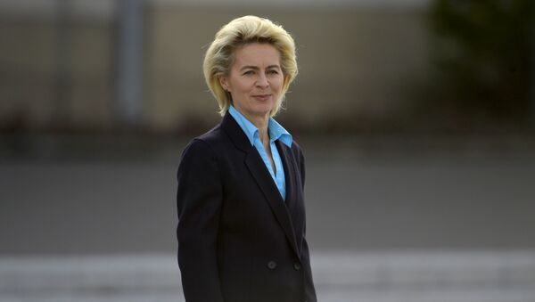 Bộ trưởng Quốc phòng Đức Ursula von der Leyen - Sputnik Việt Nam