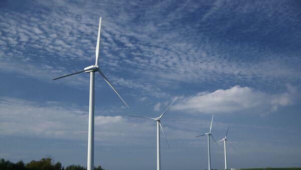 cánh đồng năng lượng gió - Sputnik Việt Nam