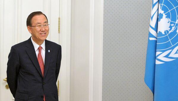 Tổng thư ký LHQ Ban Ki-moon - Sputnik Việt Nam