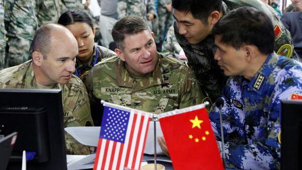 Ở tỉnh Vân Nam vừa kết thúc cuộc diễn tập chung Mỹ-Trung với nội dung hỗ trợ nhân đạo và cứu trợ thảm họa ở vùng núi. - Sputnik Việt Nam