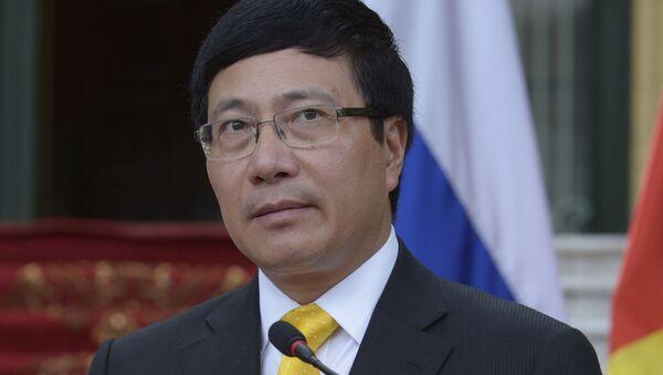 Bộ trưởng Ngoại giao Phạm Bình Minh - Sputnik Việt Nam