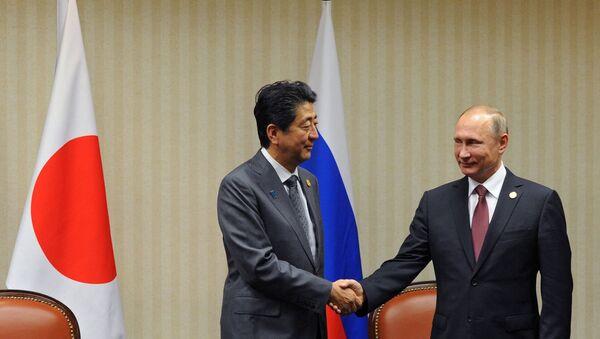 Chuyển sang gọi là bạn: Thủ tướng  Abe hứa đón chào Tổng thống Putin nồng nhiệt - Sputnik Việt Nam