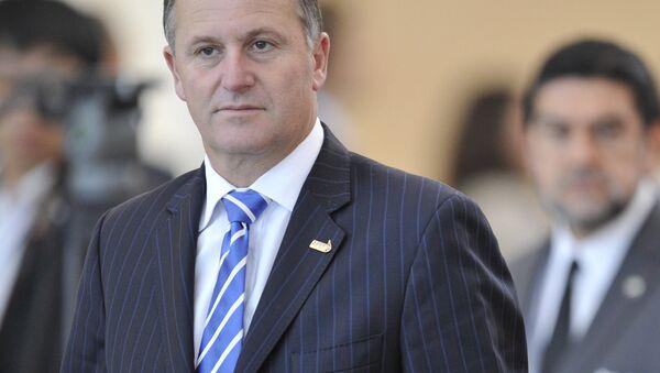 Thủ tướng New Zealand John Key - Sputnik Việt Nam