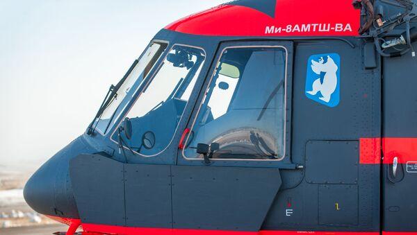 Trực thăng quân sự dành cho Bắc Cực (Mi-8 AMTSh-VA) - Sputnik Việt Nam