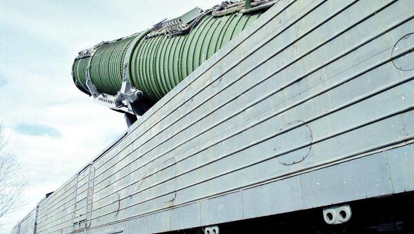 Tổ hợp tên lửa chiến đấu đường sắt - Sputnik Việt Nam