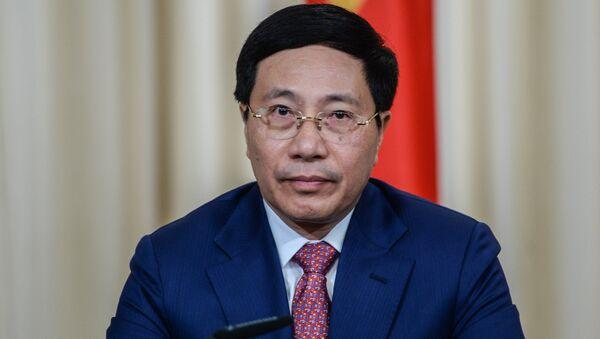 Phó thủ tướng Phạm Bình Minh - Sputnik Việt Nam
