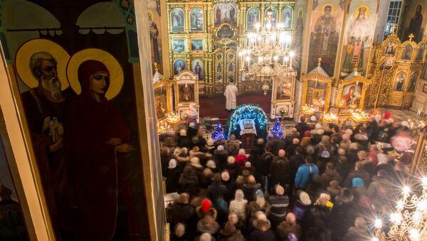 Russia celebrates Orthodox Christmas - Sputnik Việt Nam