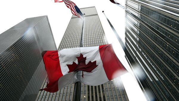 Cờ Canada - Sputnik Việt Nam