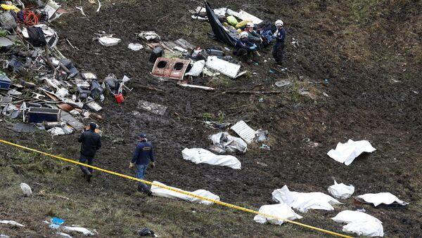 Tai nạn máy bay ở Colombia - Sputnik Việt Nam