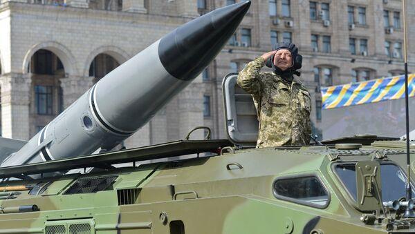 Hệ thống tên lửa 9K79 Tochka-U của lực lượng vũ trang Ukraina - Sputnik Việt Nam