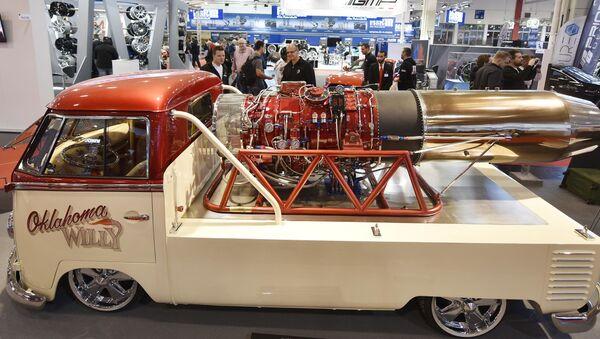 Hội chợ Ô tô quốc tế ở Đức - Essen Motor Show 2016 - Sputnik Việt Nam