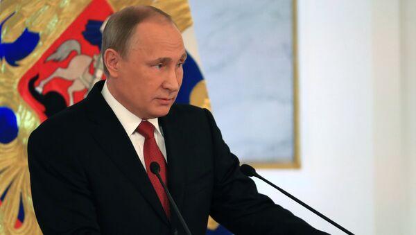 Thông điệp 2016 của Tổng thống Putin gửi Hội đồng Liên bang - Sputnik Việt Nam