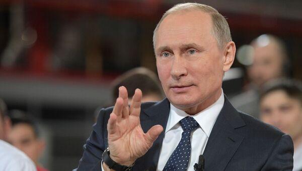 Tổng thống Putin - Sputnik Việt Nam