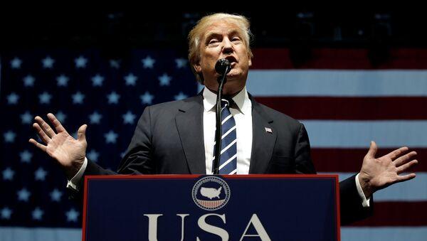 Tổng thống Mỹ mới đắc cử Donald Trump - Sputnik Việt Nam