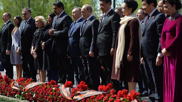 Ông Putin tham gia đặt vòng hoa tại Mộ Chiến sĩ Vô danh - Sputnik Việt Nam