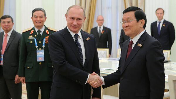 Nga và Việt Nam duy trì đối thoại chính trị nhịp nhàng - Sputnik Việt Nam