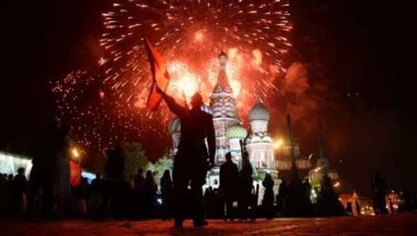 Lễ hội hoành tráng ở Matxcơva - Sputnik Việt Nam