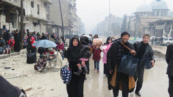 Người dân Aleppo - Sputnik Việt Nam