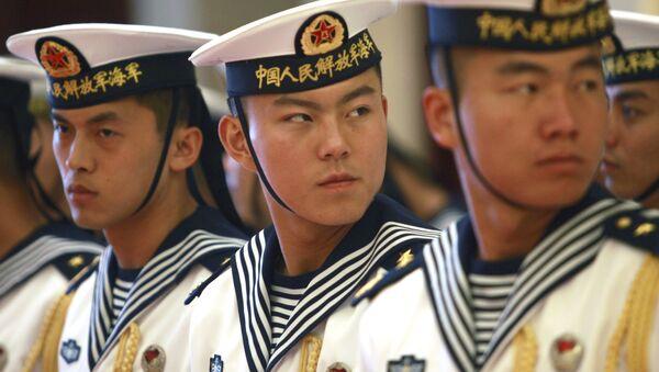 Thành viên thủy thủ đoàn Hạm đội Hải quân Trung Quốc - Sputnik Việt Nam