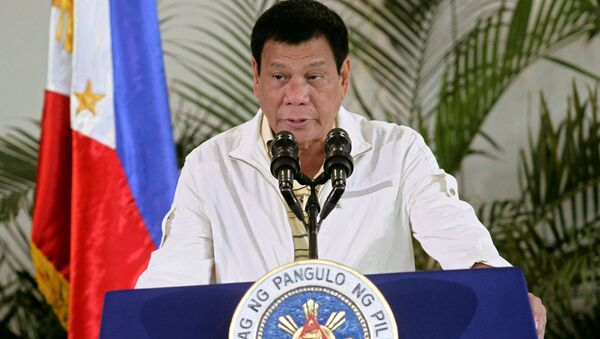 Tổng thống Rodrigo Duterte - Sputnik Việt Nam
