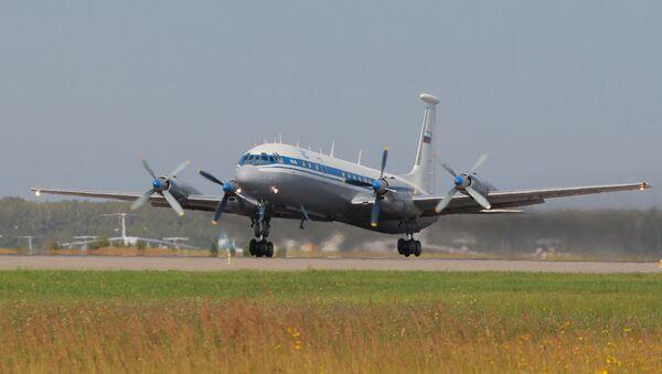 Il-18 aircraft at Chkalovsky airport - Sputnik Việt Nam